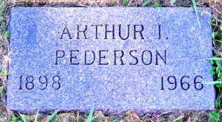 PEDERSON, ARTHUR I. - Lincoln County, South Dakota | ARTHUR I. PEDERSON - South Dakota Gravestone Photos