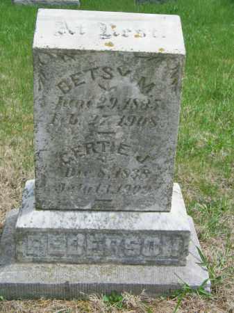 PEDERSON, GERTIE J - Lincoln County, South Dakota | GERTIE J PEDERSON - South Dakota Gravestone Photos