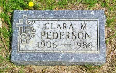 PEDERSON, CLARA M - Lincoln County, South Dakota   CLARA M PEDERSON - South Dakota Gravestone Photos