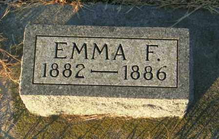 PEDERSON, EMMA F - Lincoln County, South Dakota | EMMA F PEDERSON - South Dakota Gravestone Photos