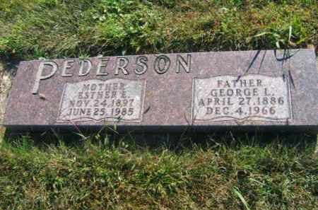 PEDERSON, GEORGE L - Lincoln County, South Dakota | GEORGE L PEDERSON - South Dakota Gravestone Photos