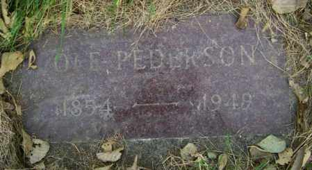 PEDERSON, OLE - Lincoln County, South Dakota | OLE PEDERSON - South Dakota Gravestone Photos