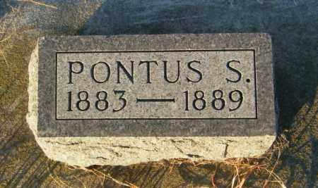 PEDERSON, PONTUS S - Lincoln County, South Dakota | PONTUS S PEDERSON - South Dakota Gravestone Photos