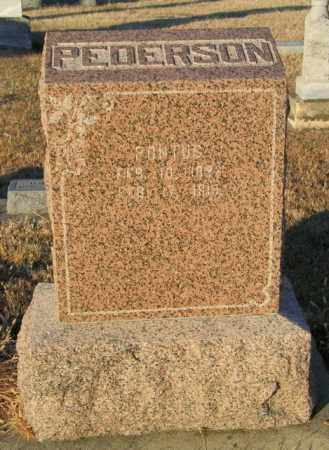 PEDERSON, PONTUS - Lincoln County, South Dakota | PONTUS PEDERSON - South Dakota Gravestone Photos