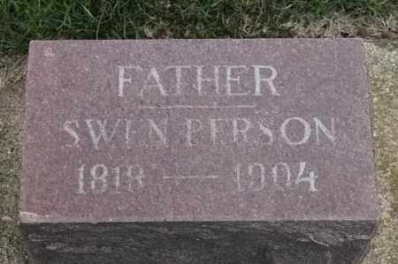 PERSON, SWEN - Lincoln County, South Dakota   SWEN PERSON - South Dakota Gravestone Photos