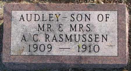 RASMUSSEN, AUDLEY - Lincoln County, South Dakota   AUDLEY RASMUSSEN - South Dakota Gravestone Photos
