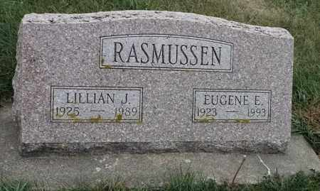 RASMUSSEN, EUGENE E - Lincoln County, South Dakota | EUGENE E RASMUSSEN - South Dakota Gravestone Photos