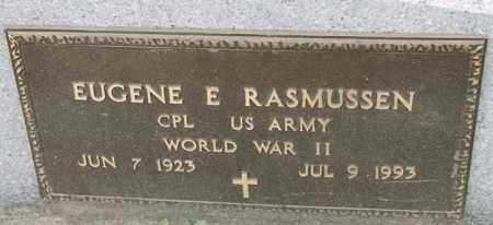 RASMUSSEN, EUGENE E - Lincoln County, South Dakota | EUGENE E RASMUSSEN - South Dakota Gravestone Photos