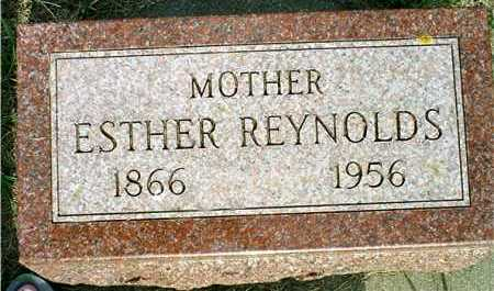LUNDBORG REYNOLDS, ESTHER - Lincoln County, South Dakota | ESTHER LUNDBORG REYNOLDS - South Dakota Gravestone Photos