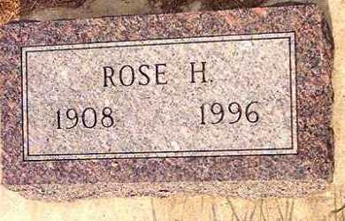 SUNDSTROM REYNOLDS, ROSE HAZEL - Lincoln County, South Dakota | ROSE HAZEL SUNDSTROM REYNOLDS - South Dakota Gravestone Photos