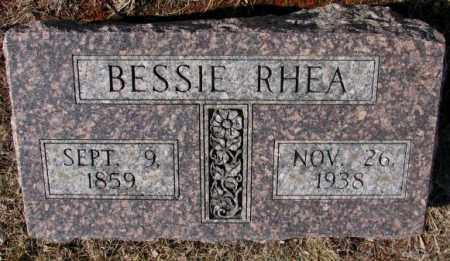 RHEA, BESSIE - Lincoln County, South Dakota | BESSIE RHEA - South Dakota Gravestone Photos