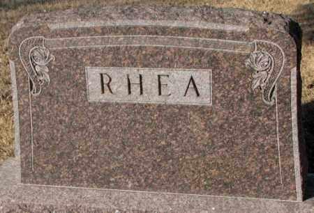RHEA, PLOT MARKER - Lincoln County, South Dakota | PLOT MARKER RHEA - South Dakota Gravestone Photos