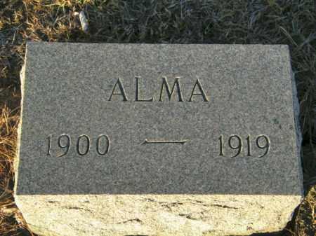 RIKANSRUD, ALMA - Lincoln County, South Dakota | ALMA RIKANSRUD - South Dakota Gravestone Photos