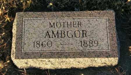 RIKANSRUD, AMBGOR - Lincoln County, South Dakota | AMBGOR RIKANSRUD - South Dakota Gravestone Photos