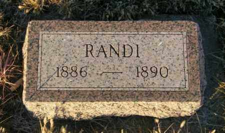 RIKANSRUD, RANDI - Lincoln County, South Dakota   RANDI RIKANSRUD - South Dakota Gravestone Photos