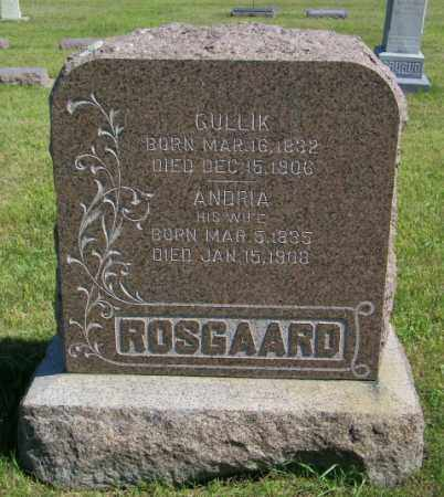 ROSGAARD, ANDRIA - Lincoln County, South Dakota | ANDRIA ROSGAARD - South Dakota Gravestone Photos