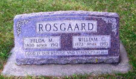 ROSGAARD, WILLIAM G. - Lincoln County, South Dakota | WILLIAM G. ROSGAARD - South Dakota Gravestone Photos