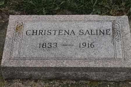SALINE, CHRISTENA - Lincoln County, South Dakota   CHRISTENA SALINE - South Dakota Gravestone Photos