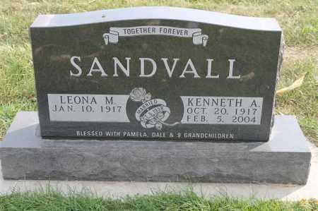 SANDVALL, KENNETH A - Lincoln County, South Dakota | KENNETH A SANDVALL - South Dakota Gravestone Photos