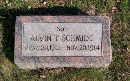 SCHMIDT, ALVIN T. - Lincoln County, South Dakota   ALVIN T. SCHMIDT - South Dakota Gravestone Photos