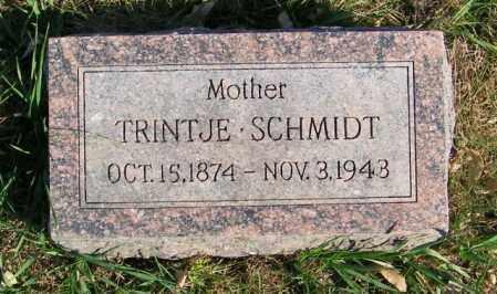 SCHMIDT, TRINTJE - Lincoln County, South Dakota | TRINTJE SCHMIDT - South Dakota Gravestone Photos