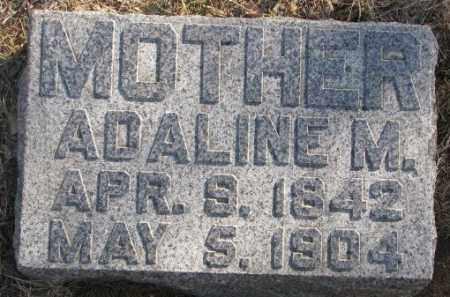 SMELKER, ADALINE M. - Lincoln County, South Dakota | ADALINE M. SMELKER - South Dakota Gravestone Photos