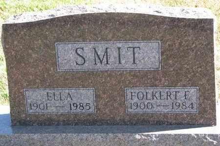 SMIT, ELLA - Lincoln County, South Dakota   ELLA SMIT - South Dakota Gravestone Photos