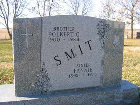 SMIT, FOLKERT G - Lincoln County, South Dakota | FOLKERT G SMIT - South Dakota Gravestone Photos