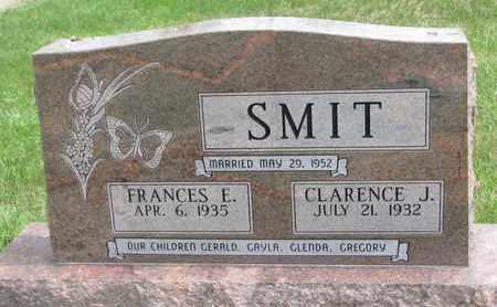 SMIT, FRANCES E. - Lincoln County, South Dakota | FRANCES E. SMIT - South Dakota Gravestone Photos