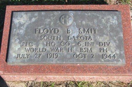 SMIT, FLOYD B. - Lincoln County, South Dakota | FLOYD B. SMIT - South Dakota Gravestone Photos