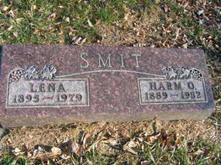 SMIT, HARM O - Lincoln County, South Dakota | HARM O SMIT - South Dakota Gravestone Photos