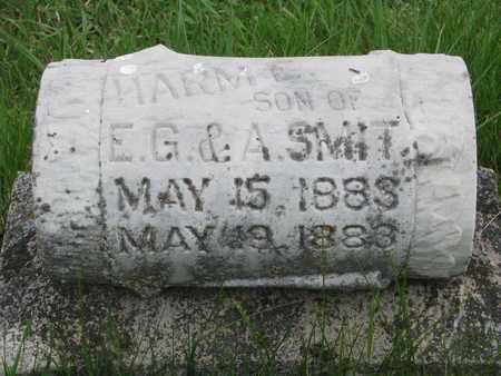 SMIT, HARM E. - Lincoln County, South Dakota   HARM E. SMIT - South Dakota Gravestone Photos