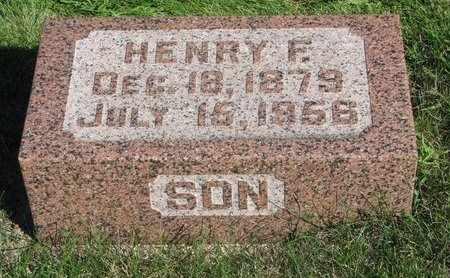 SMIT, HENRY F. - Lincoln County, South Dakota   HENRY F. SMIT - South Dakota Gravestone Photos