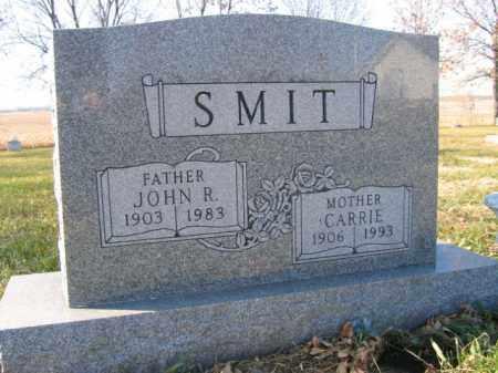 SMIT, CARRIE - Lincoln County, South Dakota   CARRIE SMIT - South Dakota Gravestone Photos