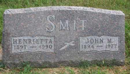 SMIT, JOHN M. - Lincoln County, South Dakota   JOHN M. SMIT - South Dakota Gravestone Photos