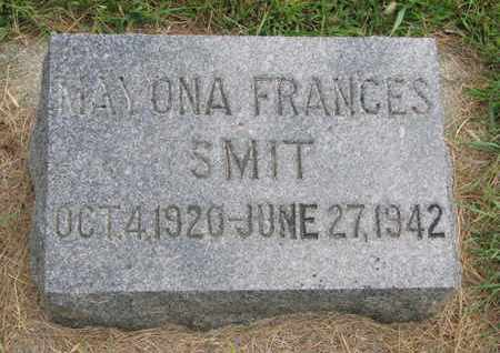 SMIT, MAYONA FRANCES - Lincoln County, South Dakota | MAYONA FRANCES SMIT - South Dakota Gravestone Photos