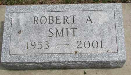 SMIT, ROBERT A. - Lincoln County, South Dakota   ROBERT A. SMIT - South Dakota Gravestone Photos