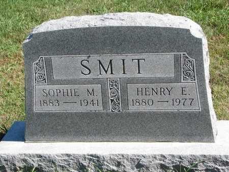 SMIT, HENRY E. - Lincoln County, South Dakota | HENRY E. SMIT - South Dakota Gravestone Photos