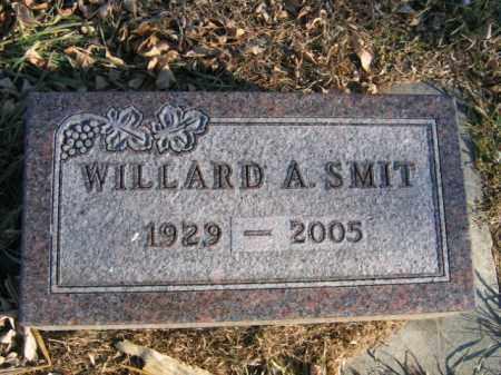SMIT, WILLARD A - Lincoln County, South Dakota | WILLARD A SMIT - South Dakota Gravestone Photos