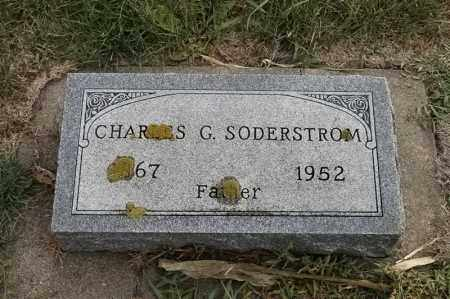 SODERSTROM, CHARLES G - Lincoln County, South Dakota   CHARLES G SODERSTROM - South Dakota Gravestone Photos