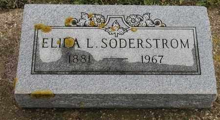 SODERSTROM, ELIDA L - Lincoln County, South Dakota | ELIDA L SODERSTROM - South Dakota Gravestone Photos