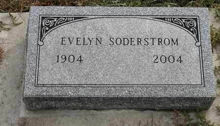 SODERSTROM, EVELYN - Lincoln County, South Dakota | EVELYN SODERSTROM - South Dakota Gravestone Photos
