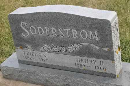 SODERSTROM, FRIEDA S - Lincoln County, South Dakota | FRIEDA S SODERSTROM - South Dakota Gravestone Photos