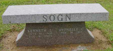SOGN, AVONELLE C - Lincoln County, South Dakota | AVONELLE C SOGN - South Dakota Gravestone Photos