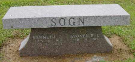 SOGN, KENNETH L - Lincoln County, South Dakota | KENNETH L SOGN - South Dakota Gravestone Photos