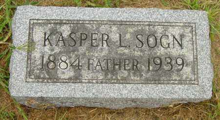 SOGN, KASPER L - Lincoln County, South Dakota | KASPER L SOGN - South Dakota Gravestone Photos
