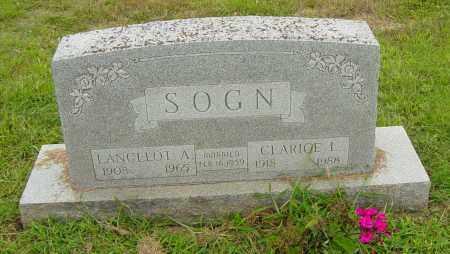 SOGN, LANCELOT A - Lincoln County, South Dakota   LANCELOT A SOGN - South Dakota Gravestone Photos