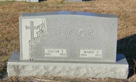 SOGN, OSCAR T - Lincoln County, South Dakota | OSCAR T SOGN - South Dakota Gravestone Photos