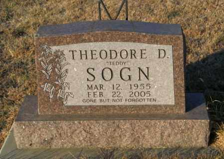 SOGN, THEODORE D - Lincoln County, South Dakota | THEODORE D SOGN - South Dakota Gravestone Photos