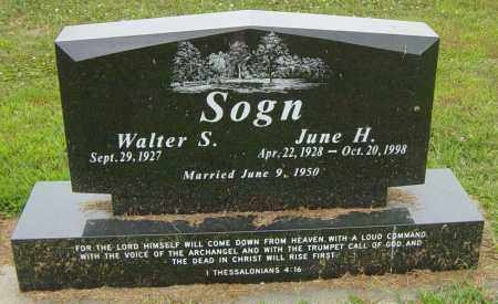 SOGN, JUNE H - Lincoln County, South Dakota | JUNE H SOGN - South Dakota Gravestone Photos